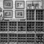 Cellar black and white