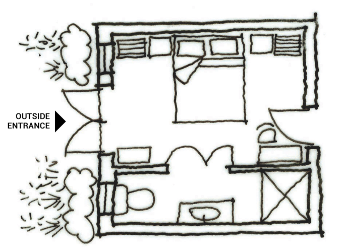 Map of Room 2